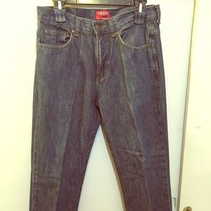 CHAPS JEANS  STRAIGHT DENIM